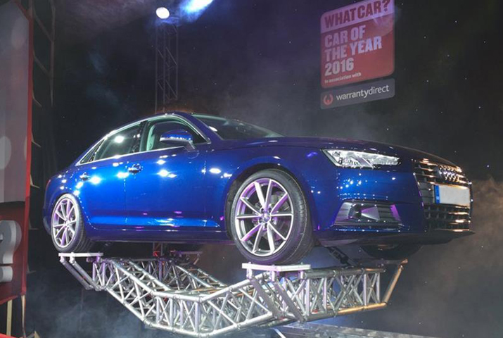 Audi A4 Gets Car Of The Year Award