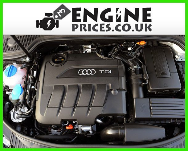 Engine For Audi A3-Diesel