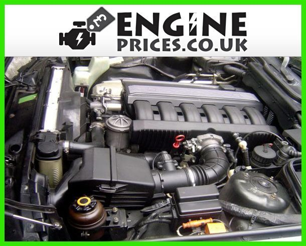 Engine For BMW 525i-Petrol