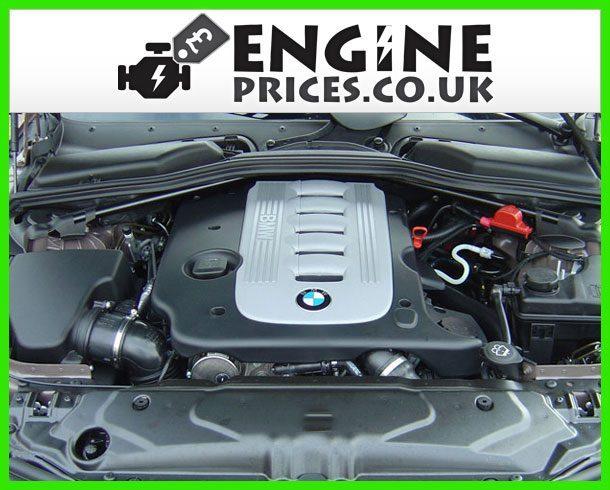Engine For BMW 535d-Diesel