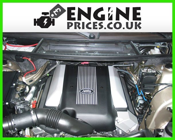 Engine For Land Rover Range-Rover-Petrol