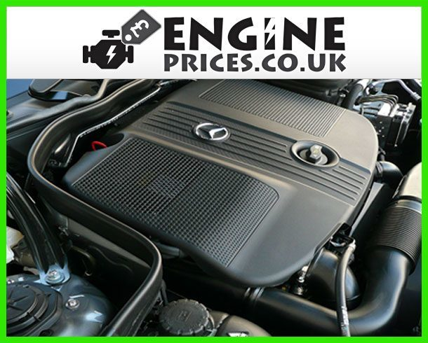 Engine For Mercedes E220-CDI-BlueEFFICIENCY
