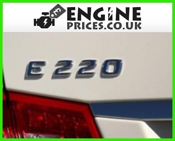 Mercedes E220-CDI
