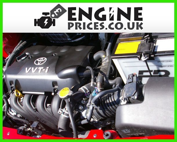 Engine For Toyota Yaris-Petrol