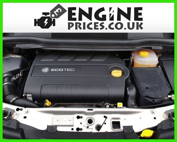 Engine For Vauxhall Zafira-Petrol
